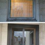 Sliding window replacement corio