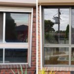 Sliding window replacement hoppers crossing
