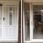 Hinged door replacement