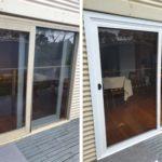 white aluminium sliding door anglesea