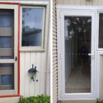 aluminium hinged door replacement anglesea