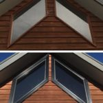 angled window replacment corio