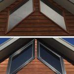 angled window replacment corio